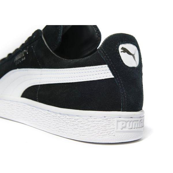 Puma Black Suede