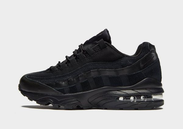 nike air max 95 junior zwart