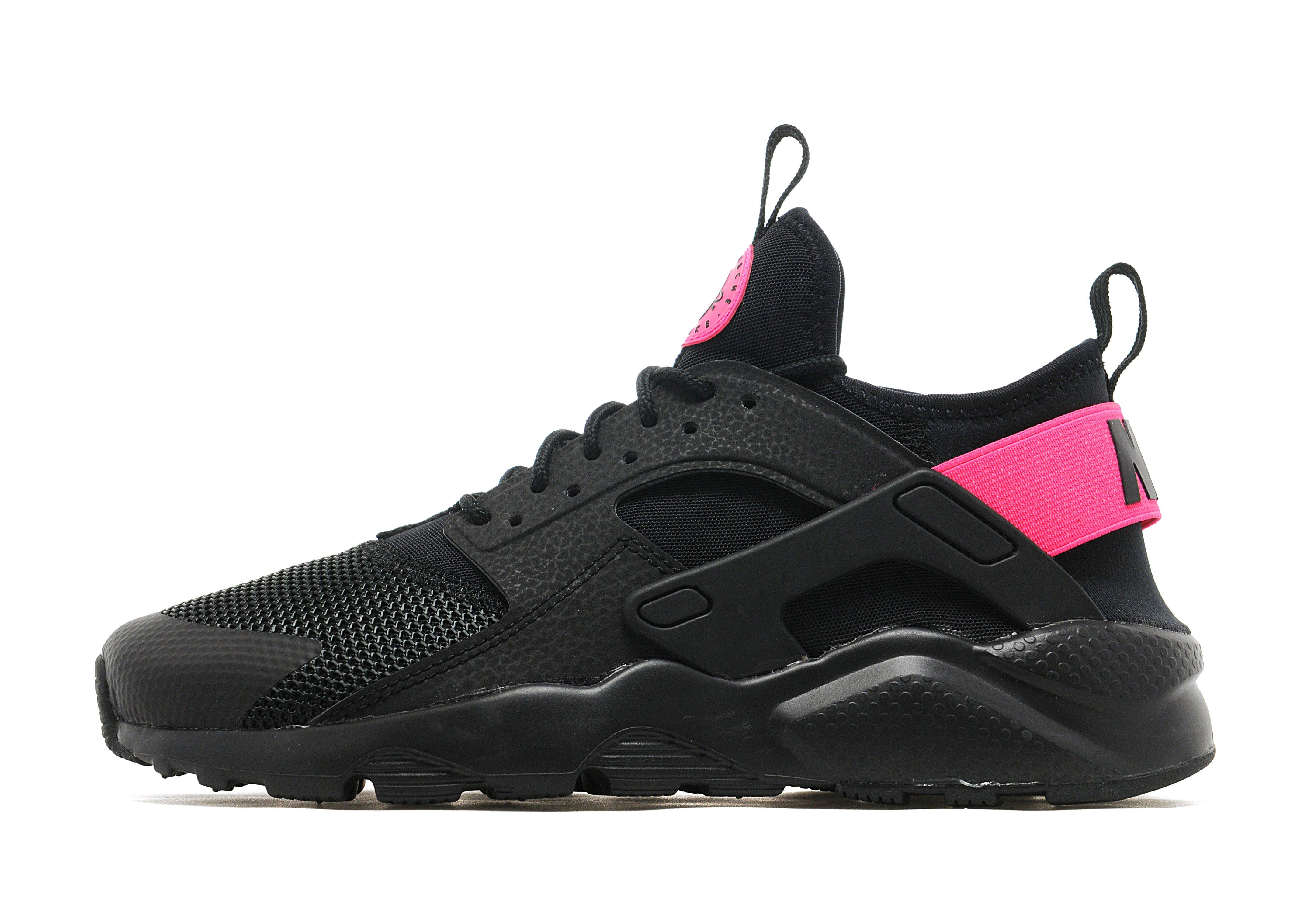 finest selection d88e5 08563 Nike Huarache Ultra Breathe Junior Black And Pink kids ...