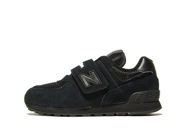 new balance 574 zwart