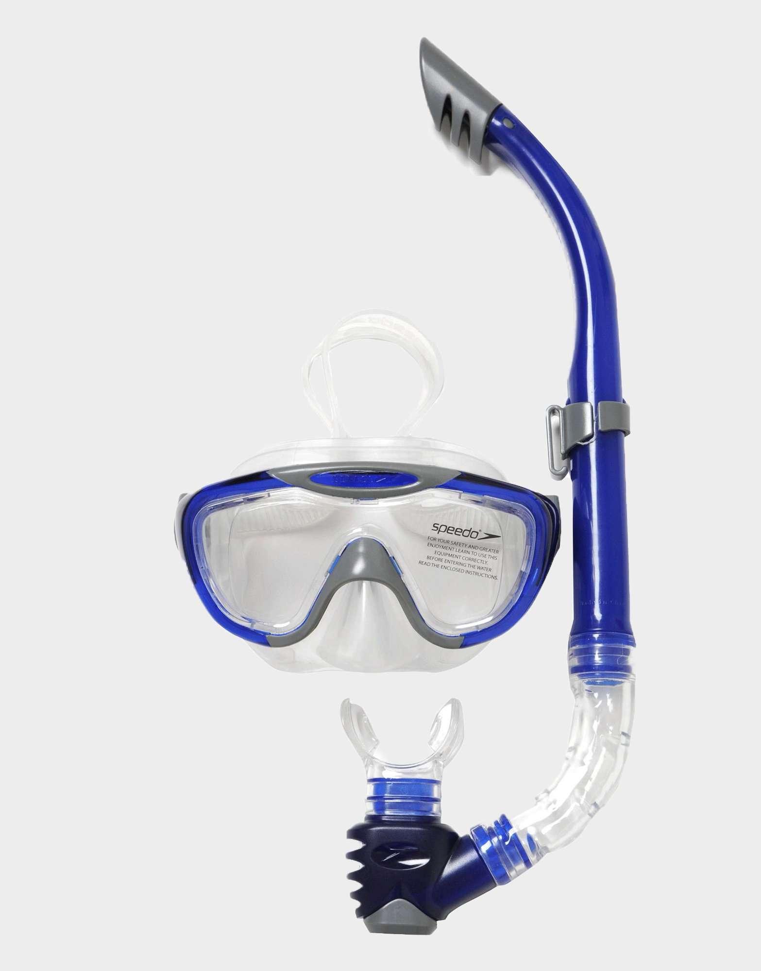 Speedo Glide Mask and Snorkel Set