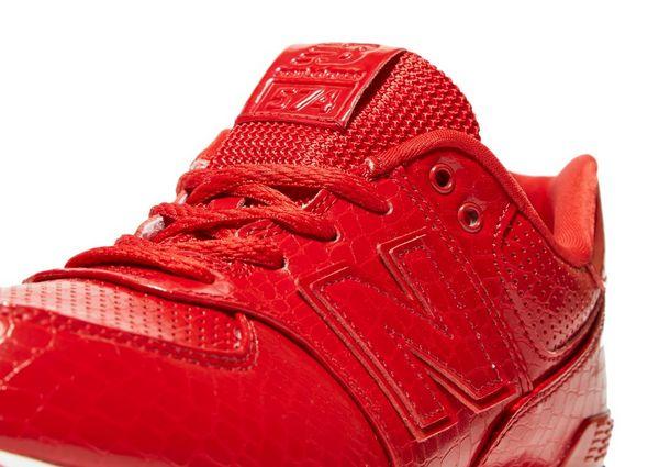 new balance 574 junior red