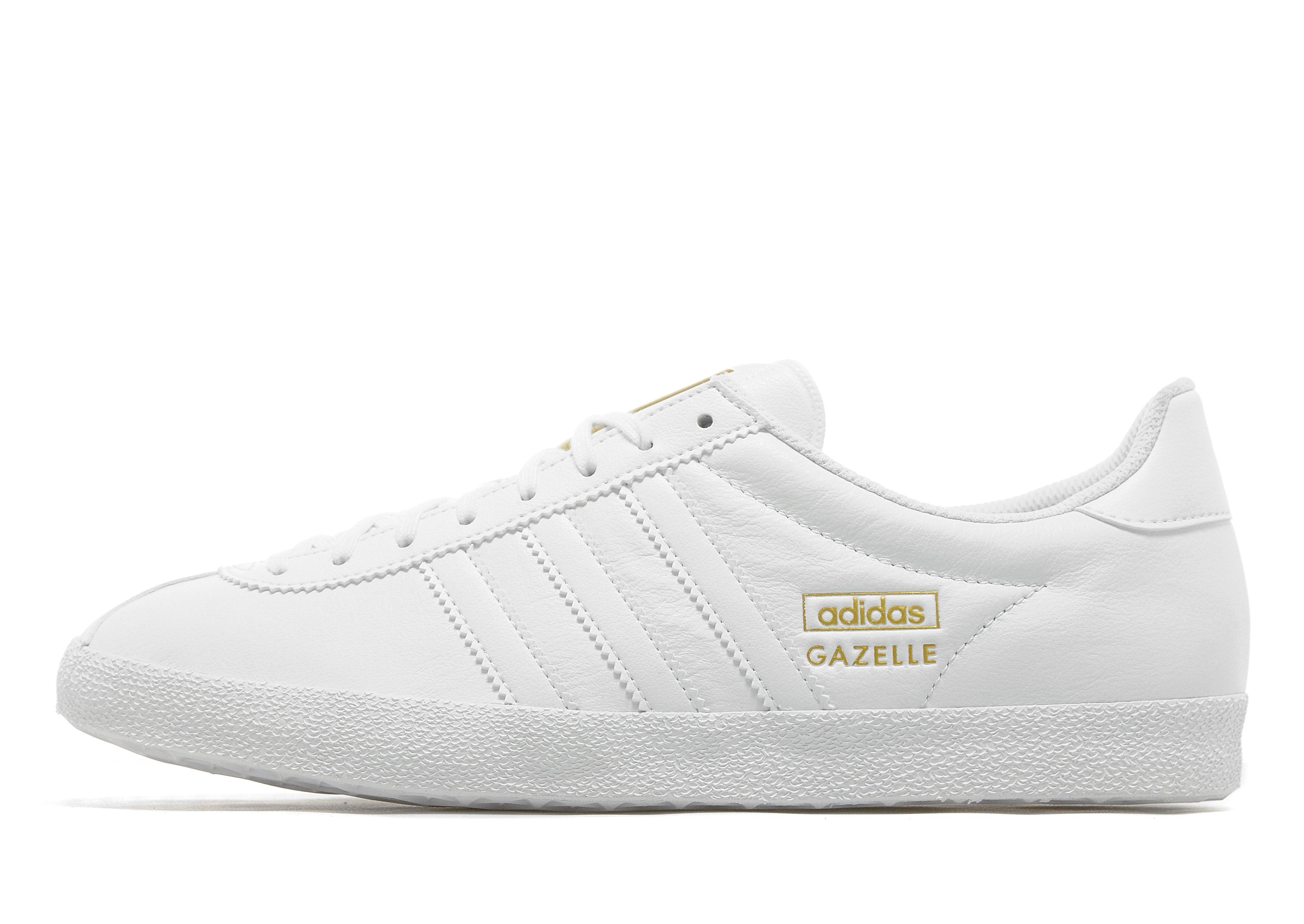 Adidas Originals Gazelle Og Leather All Black
