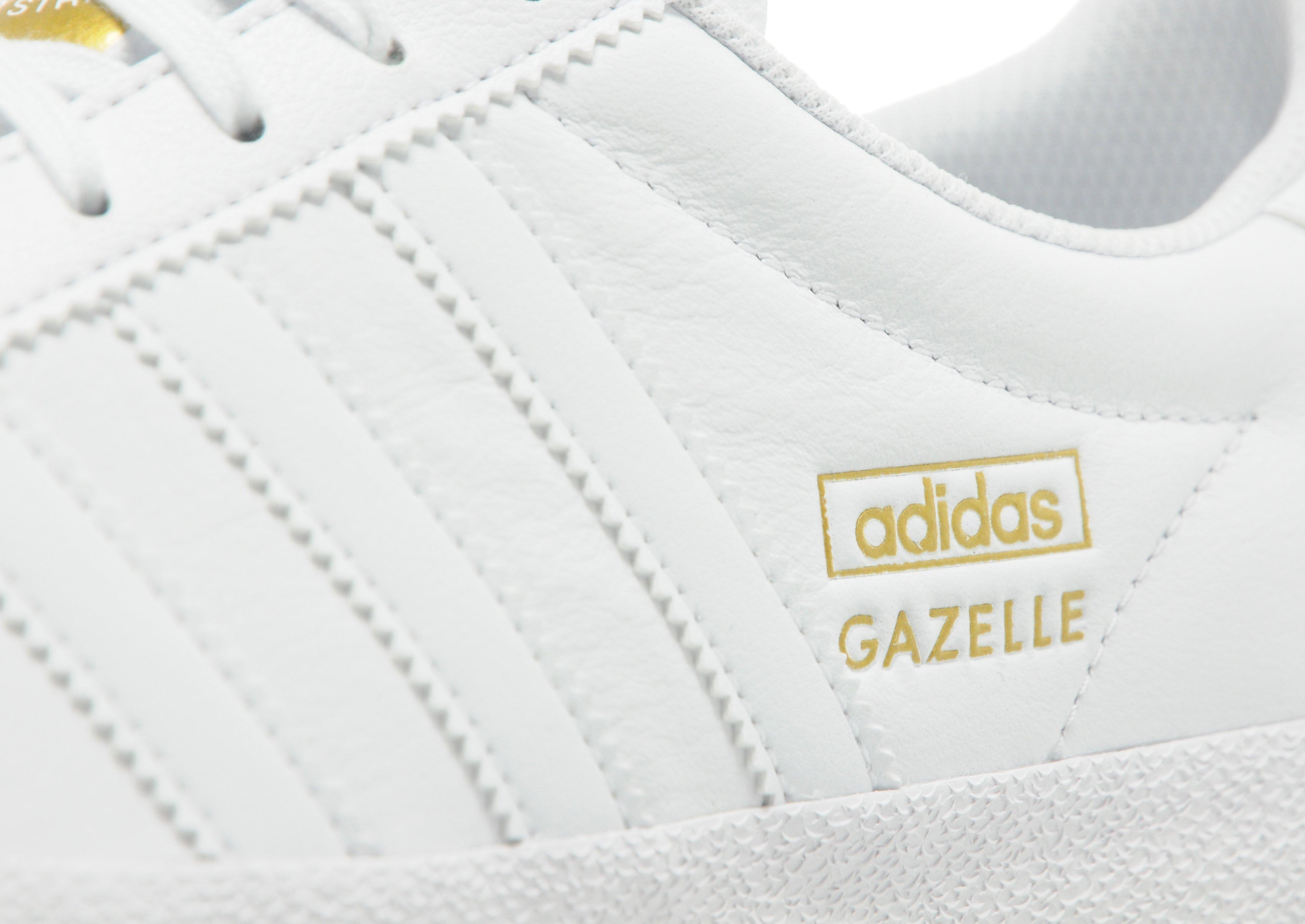 Adidas Originals Gazelle Og Leather White