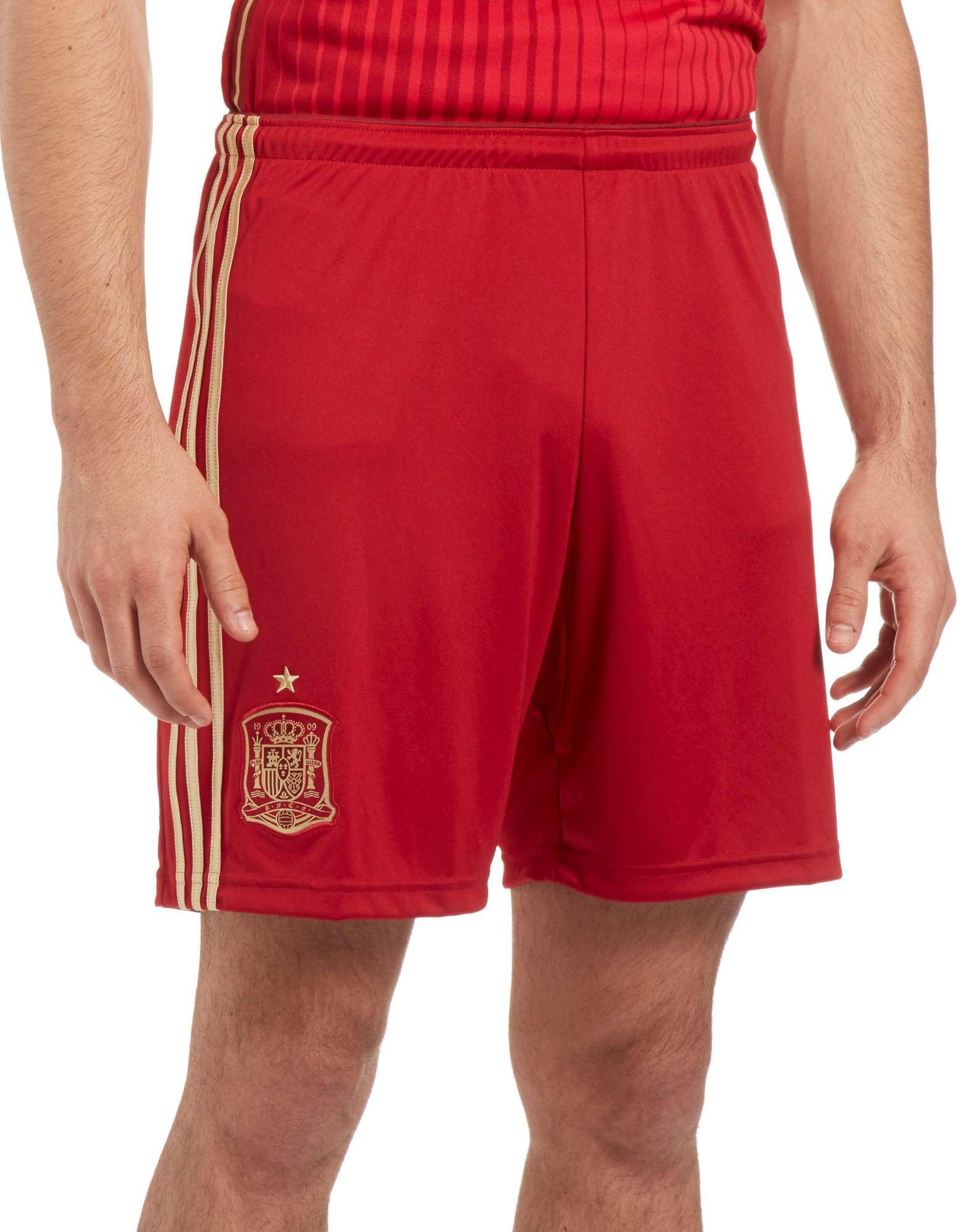adidas Spain 2014 Home Shorts
