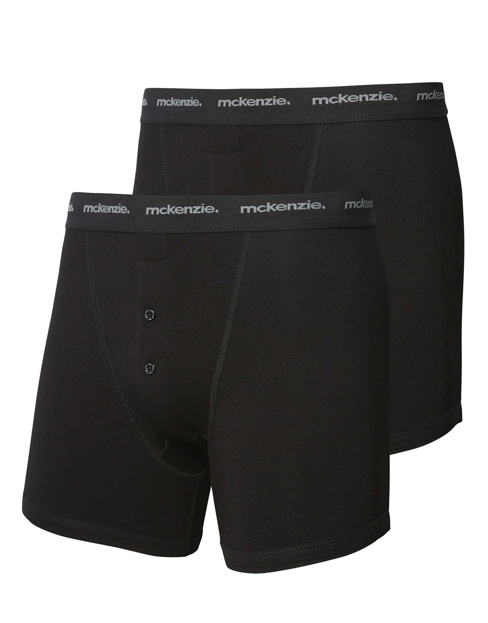 McKenzie 2 Pack Cotton Boxers
