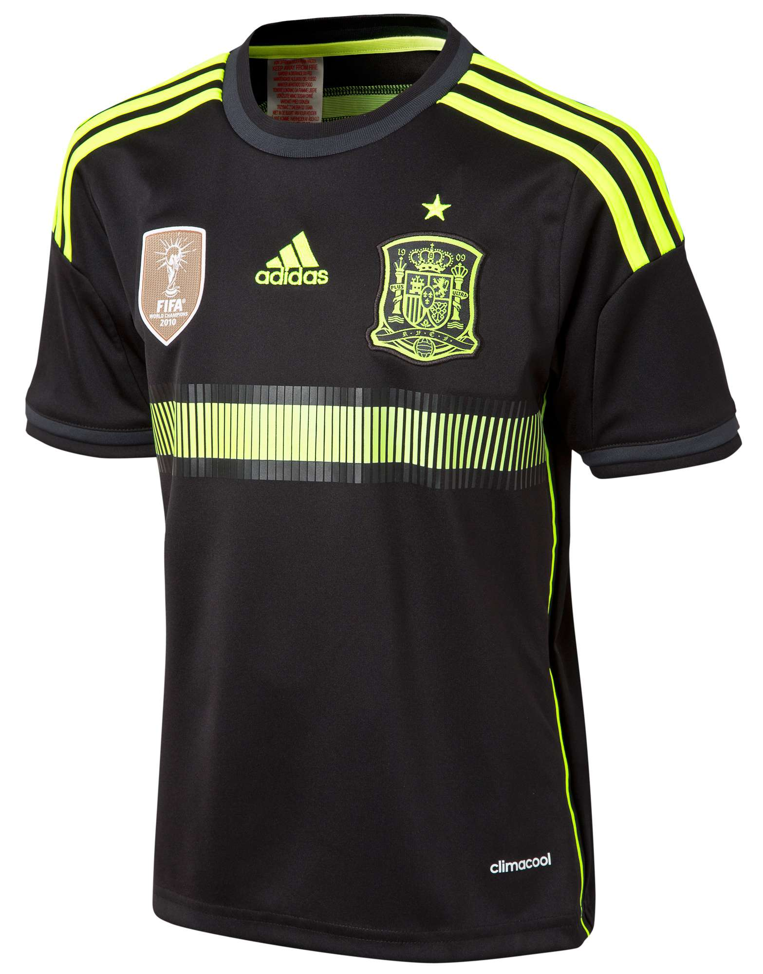 adidas Spain 2014 Junior Away Shirt