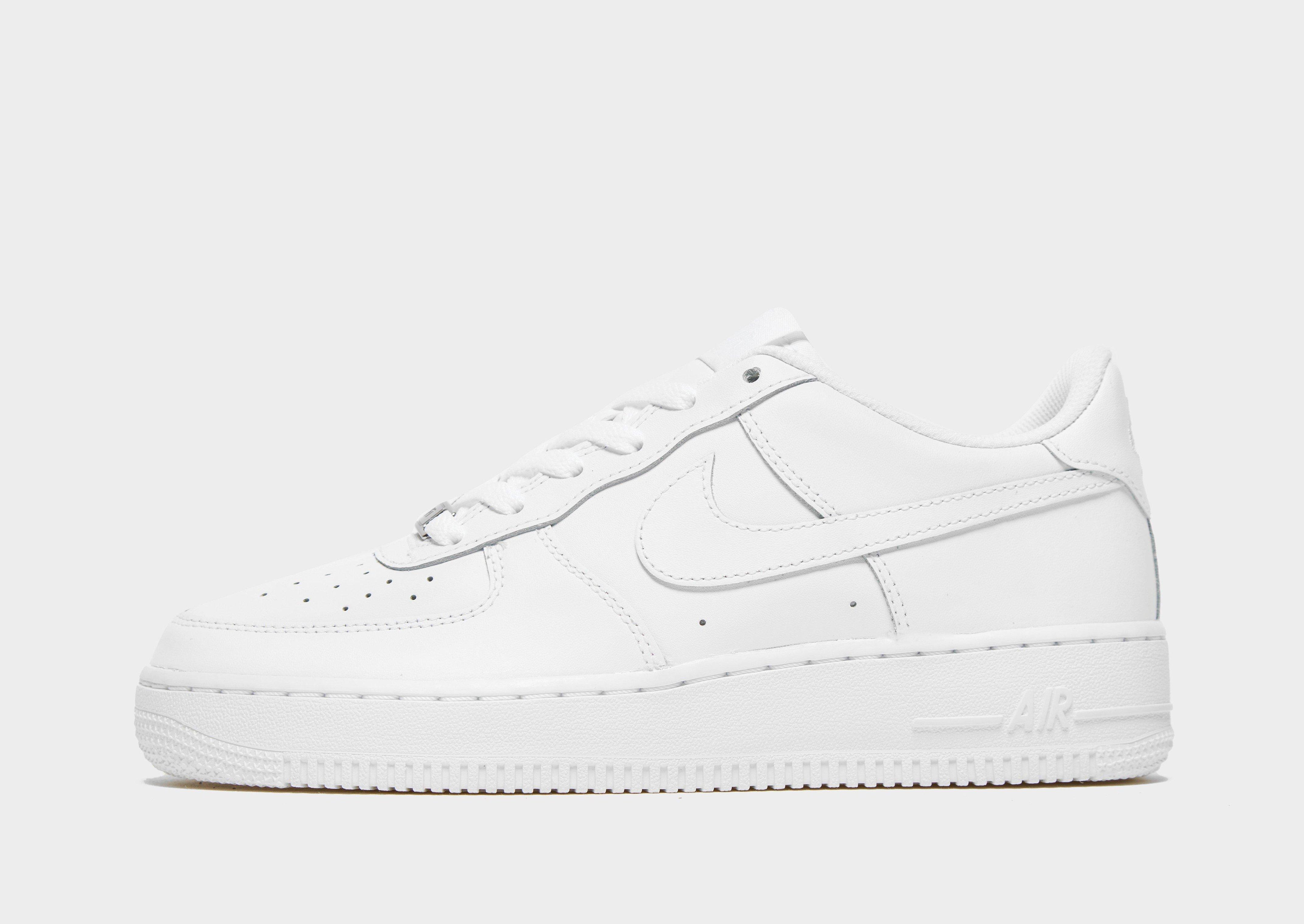 Nike Air Force 1 Bajo Secundaria Blanco