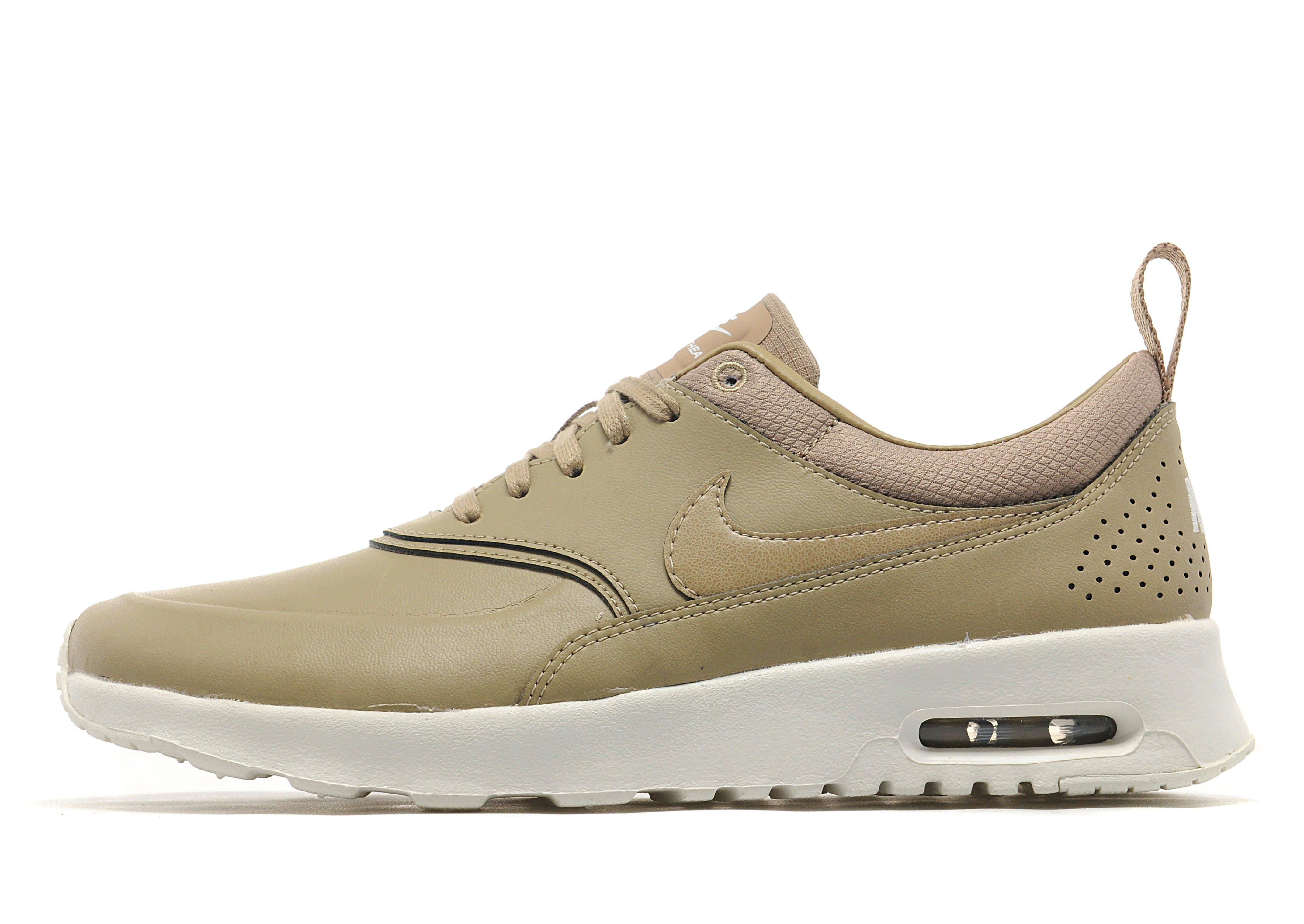 Nike Air Max Sable En Cuir Thea Premium Nmd Blanc