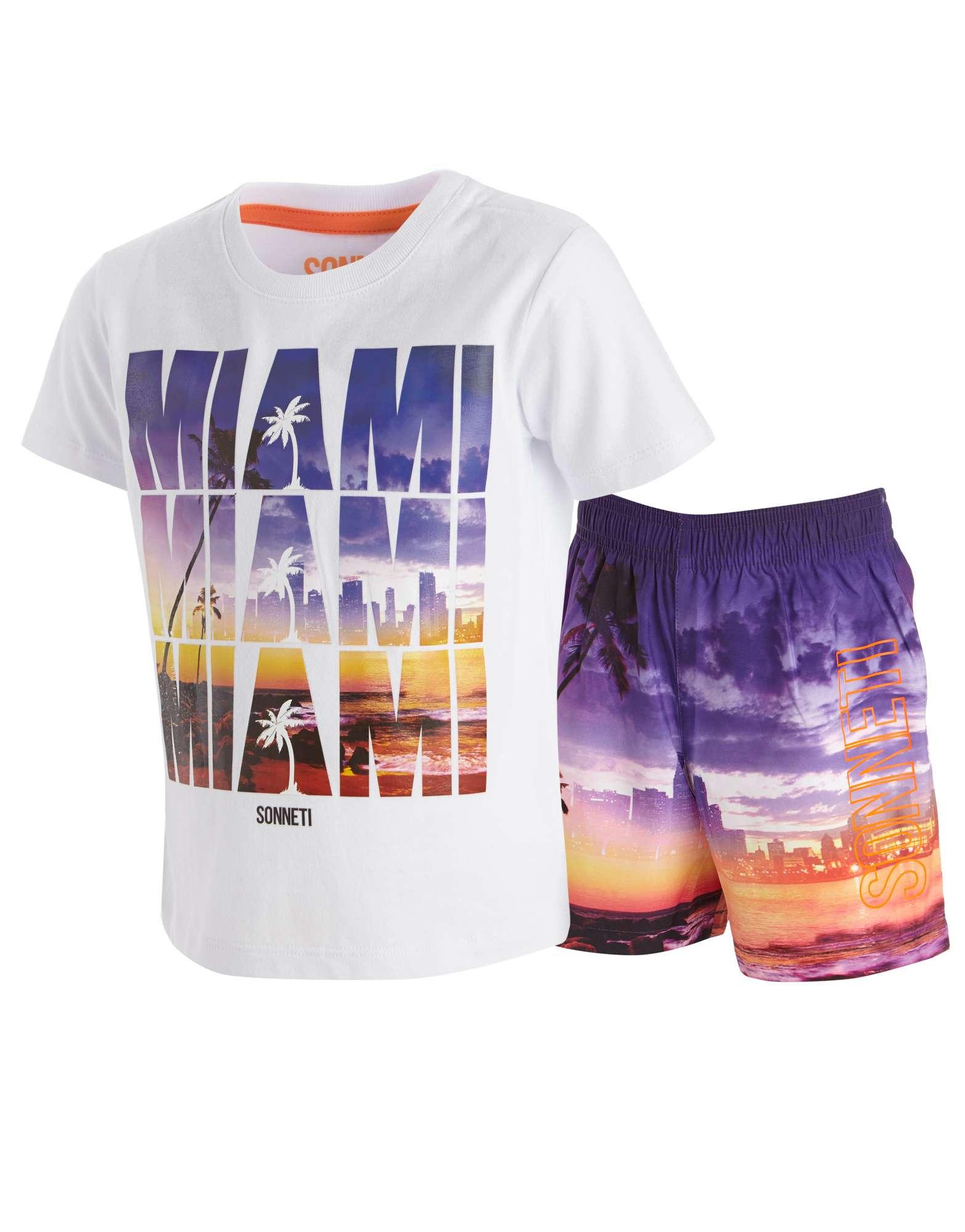 Sonneti Miami T-Shirt Shorts Set Infants