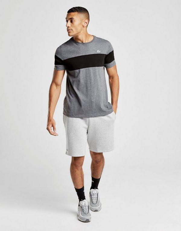 lacoste t shirt central stripe homme jd sports. Black Bedroom Furniture Sets. Home Design Ideas