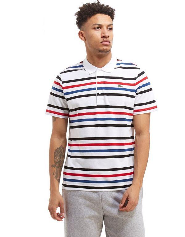 lacoste stripe polo shirt homme jd sports. Black Bedroom Furniture Sets. Home Design Ideas