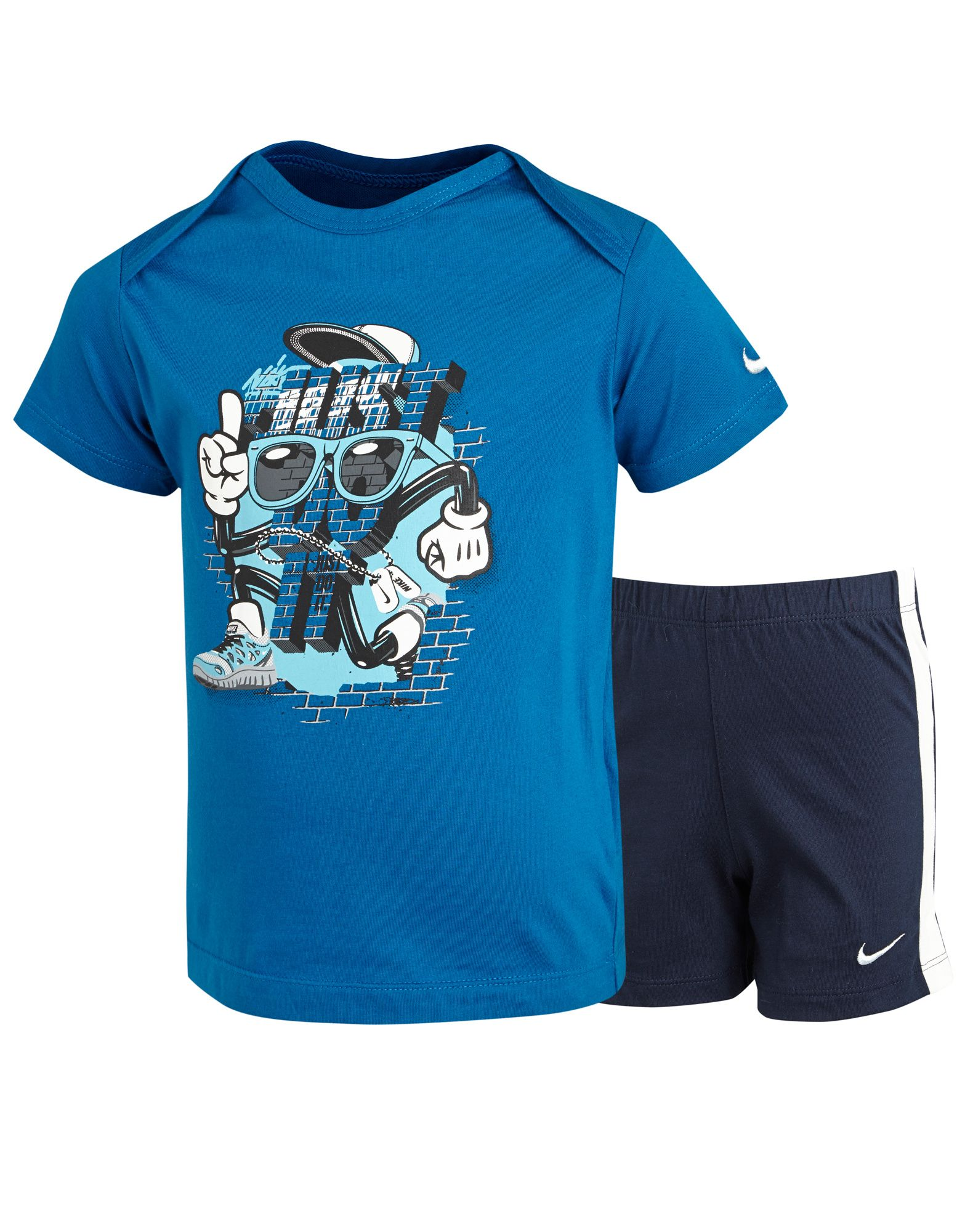 Nike Just Do It T-Shirt Shorts Set Infants