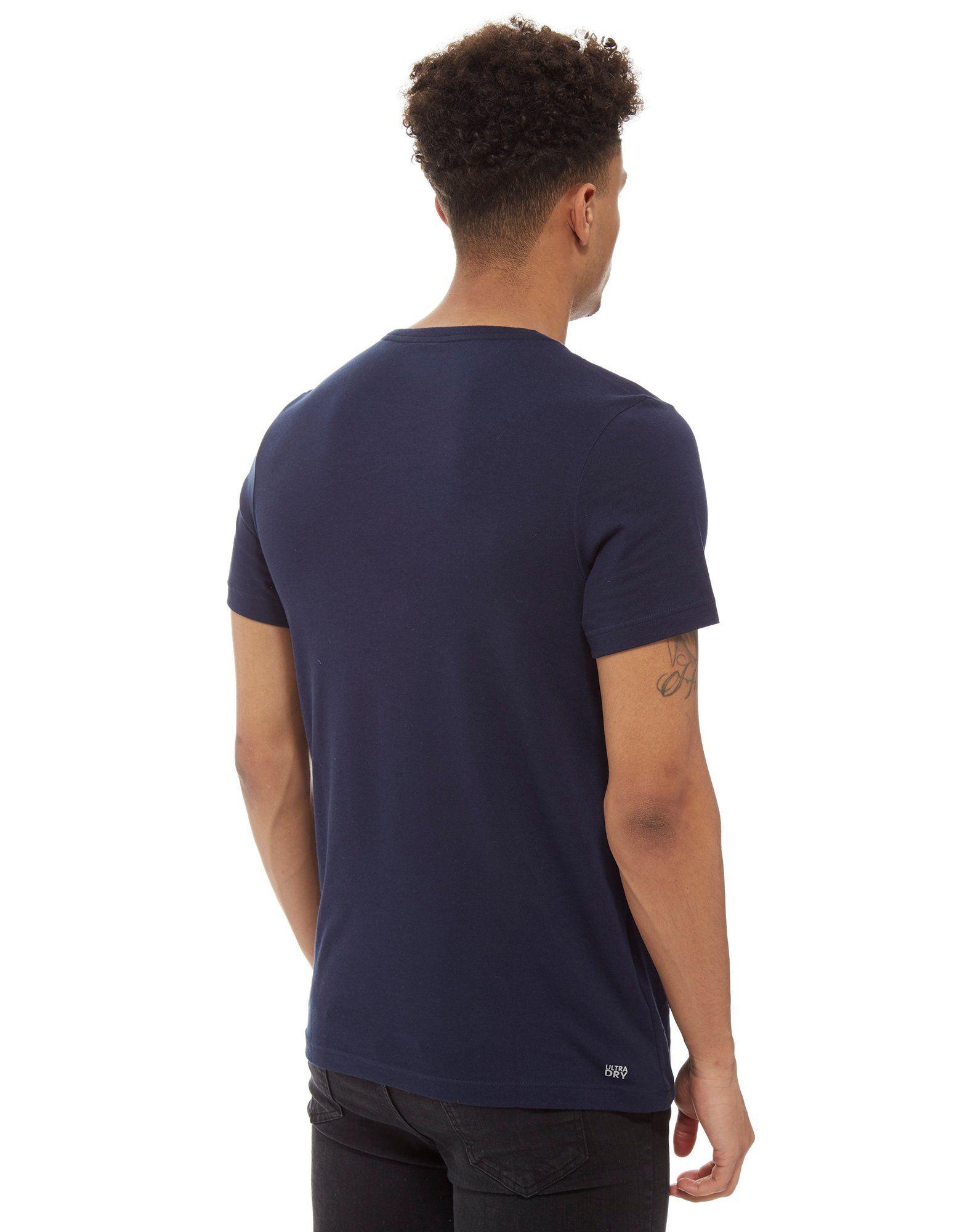 Lacoste Croc Box T-Shirt Blau