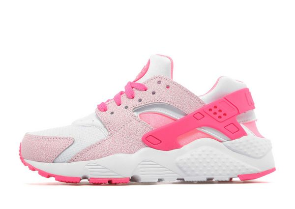 pink nike huarache junior