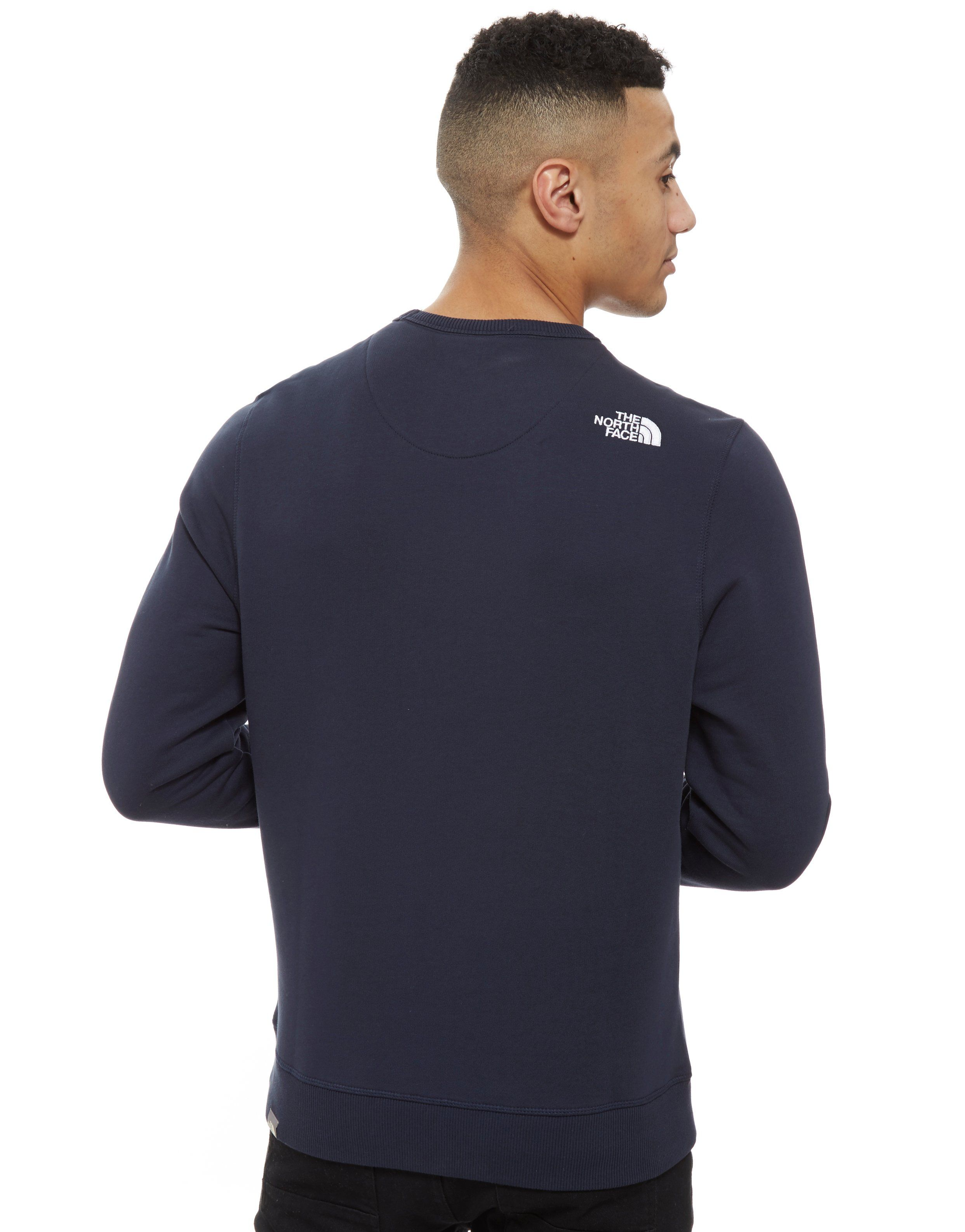 The North Face Drew Spitze Rundhalsausschnitt Sweatshirt Blau