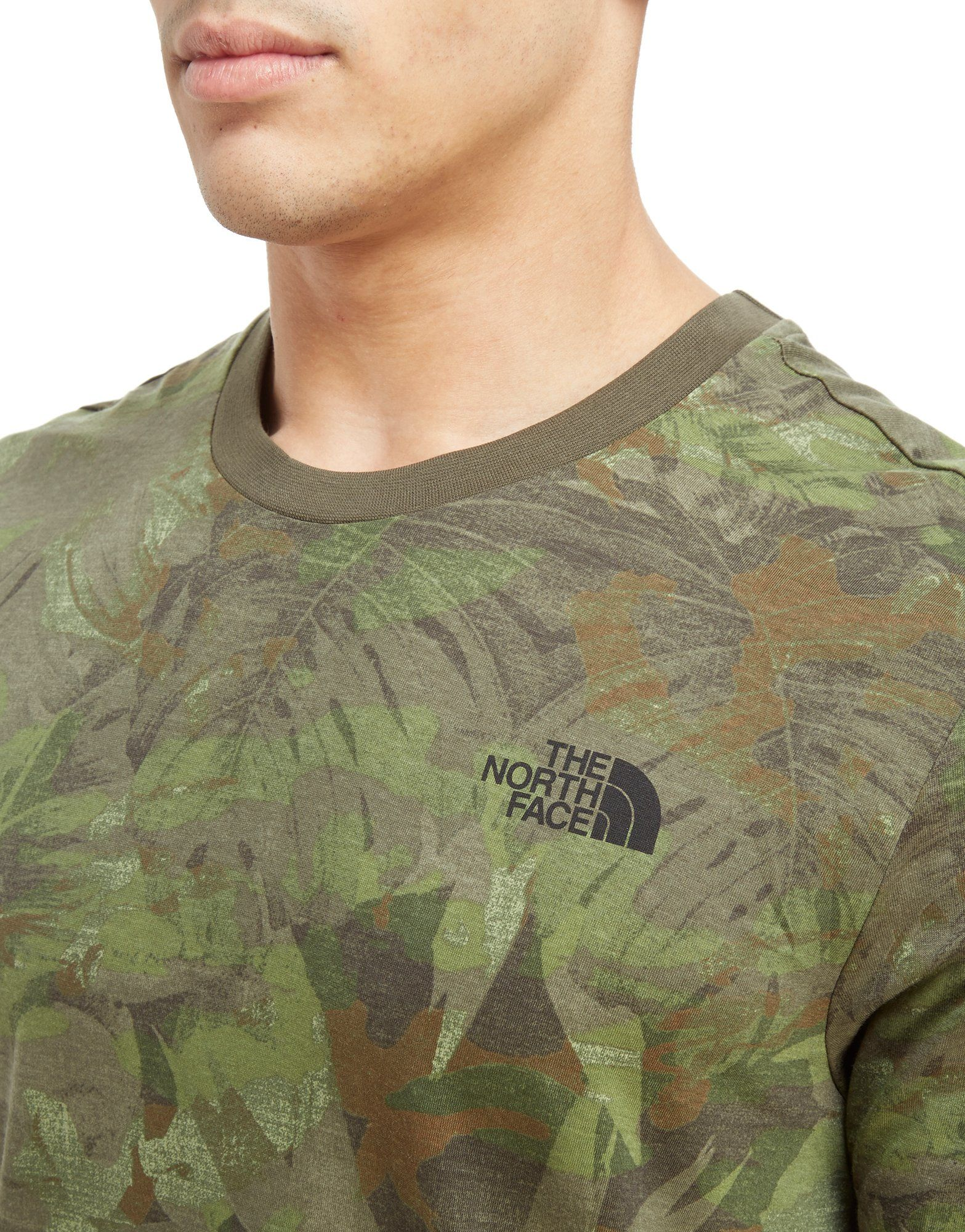 T Shirt Gr眉n The Face The North North Dome Simple wBYxRqx0