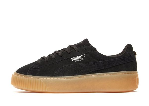 PUMA Suede Platform Jewel Junior