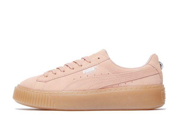 puma suede platform jewel junior sneaker