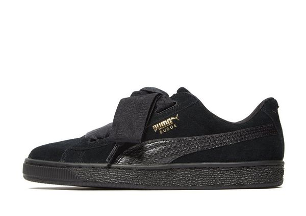 puma suede heart noir junior