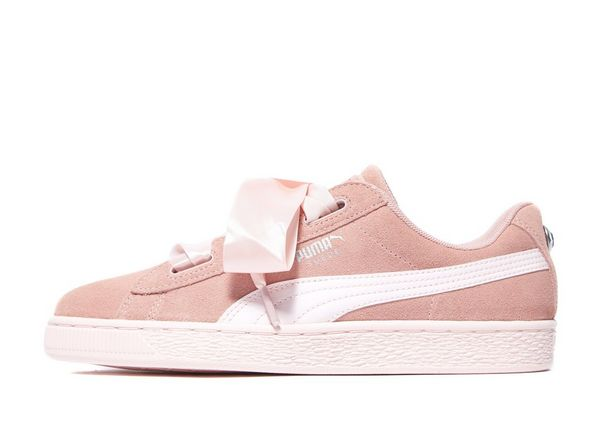 puma suede heart jewel