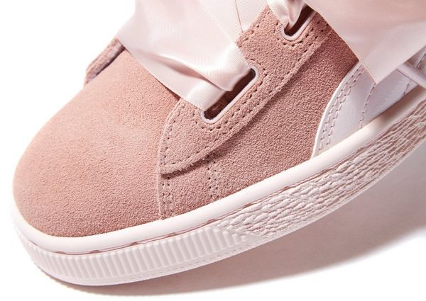 puma suede heart jewel jr