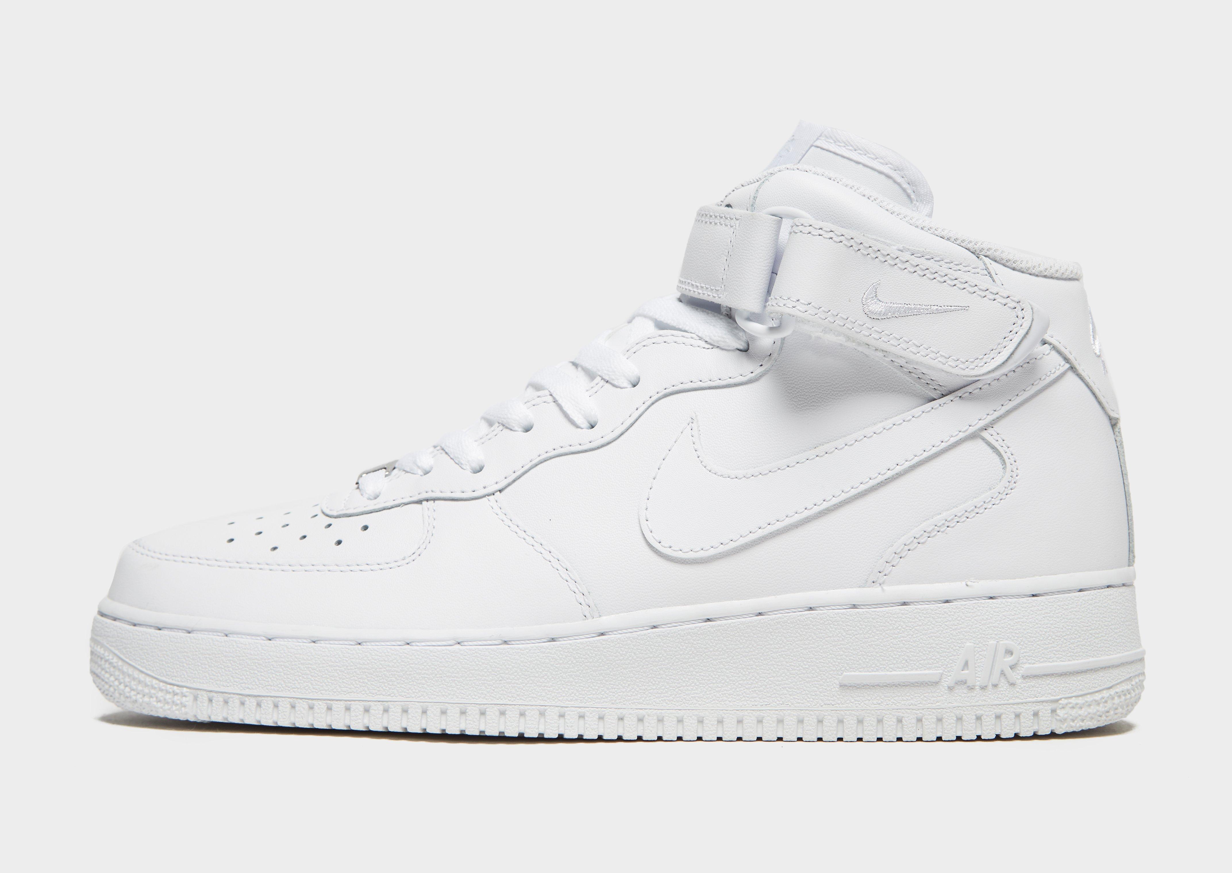 nike air force 1s high tops white converse
