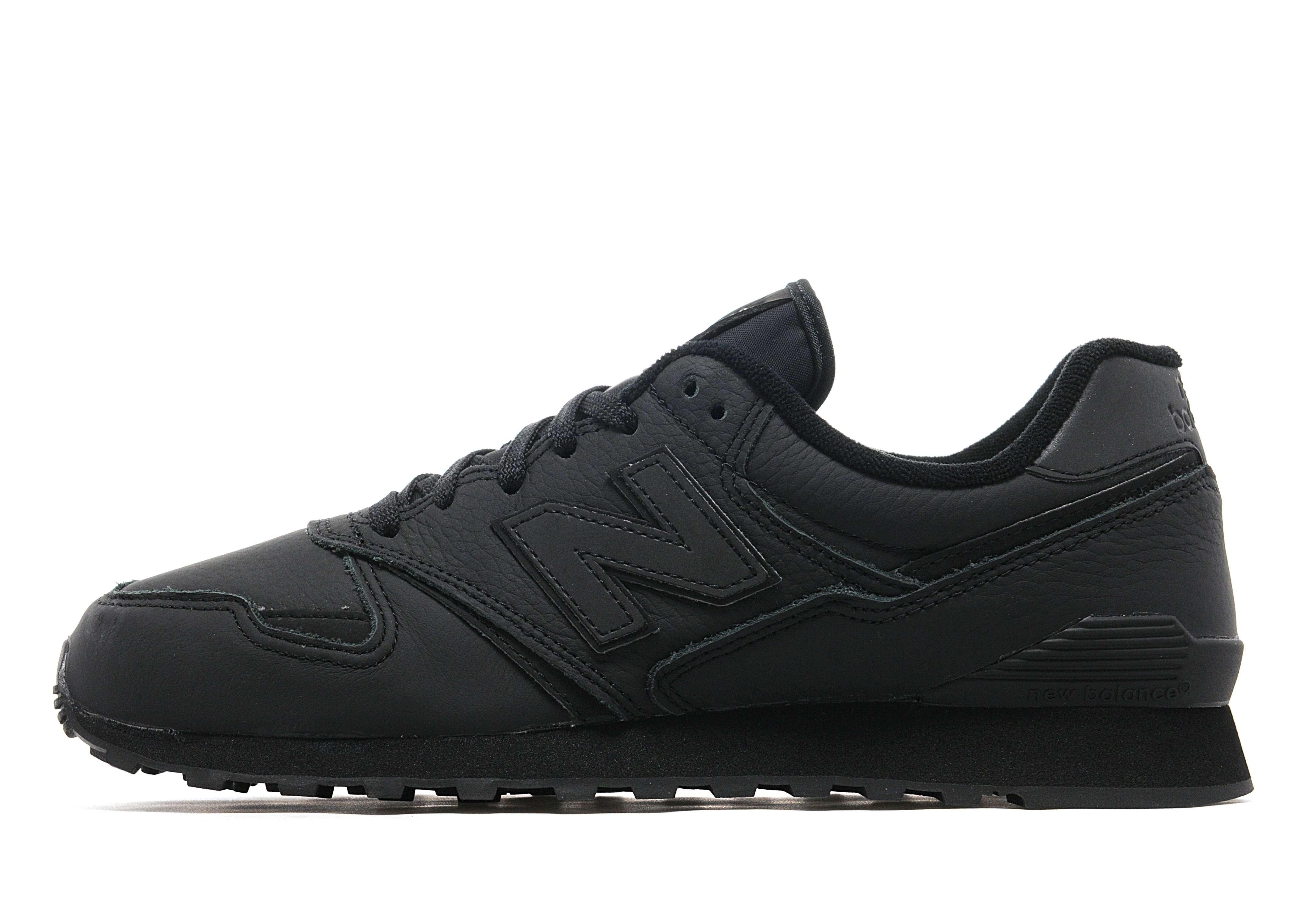 New Balance Black Leather