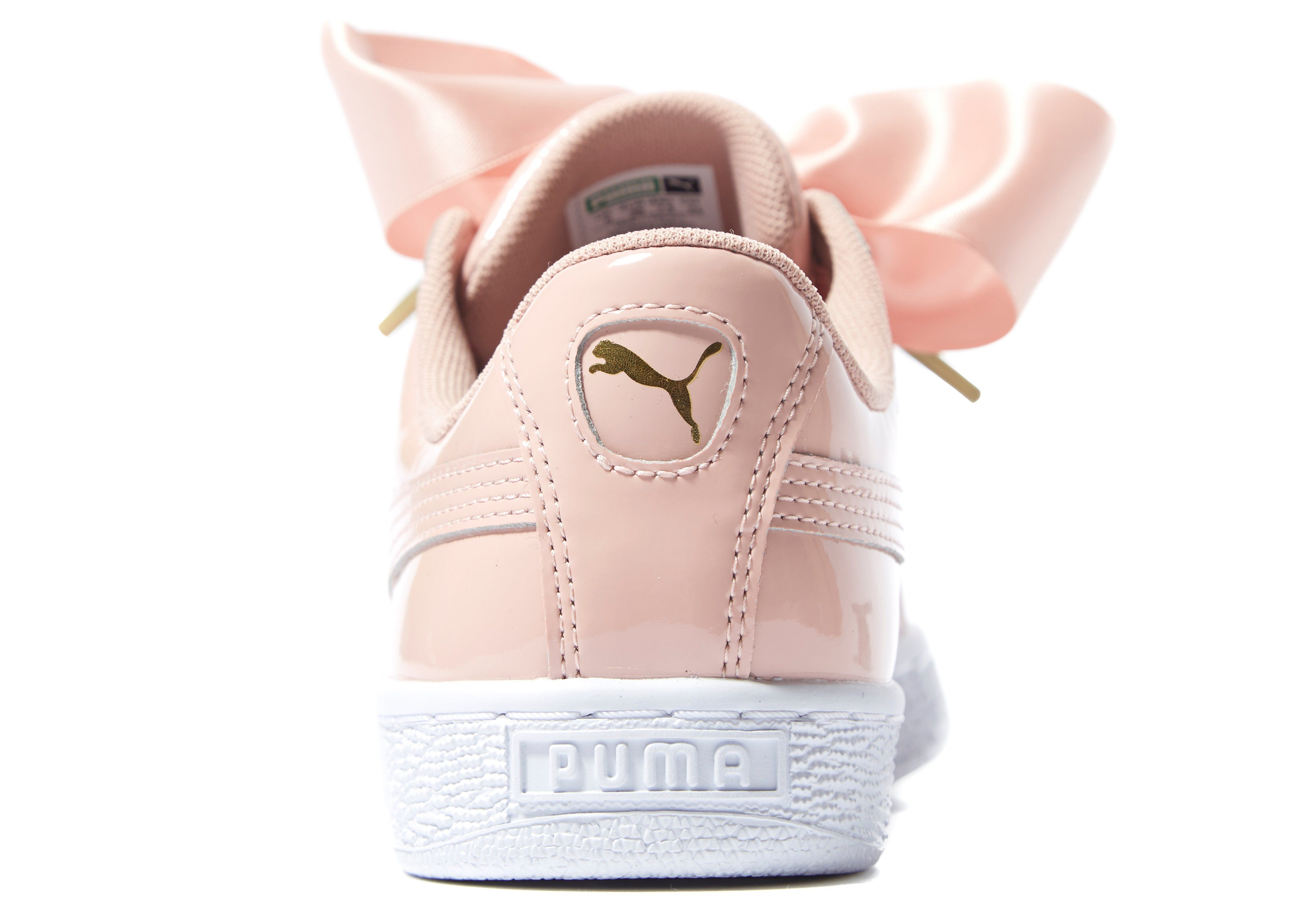 PumaBASKET HEART PATENT - Trainers - peach beige