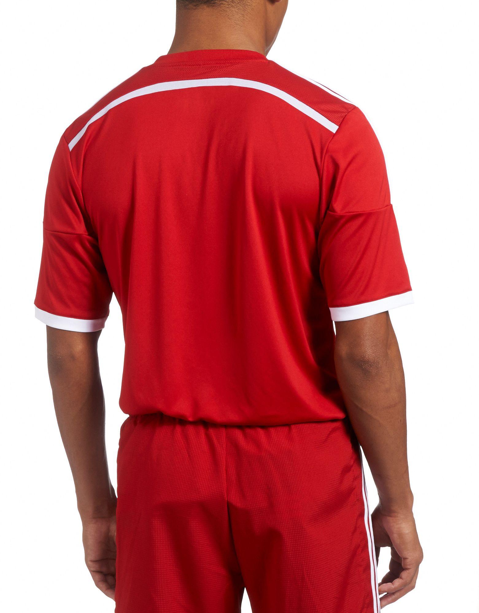 adidas Wales 2014 Home Shirt