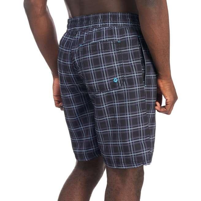 McKenzie Pappas Check Swim Shorts