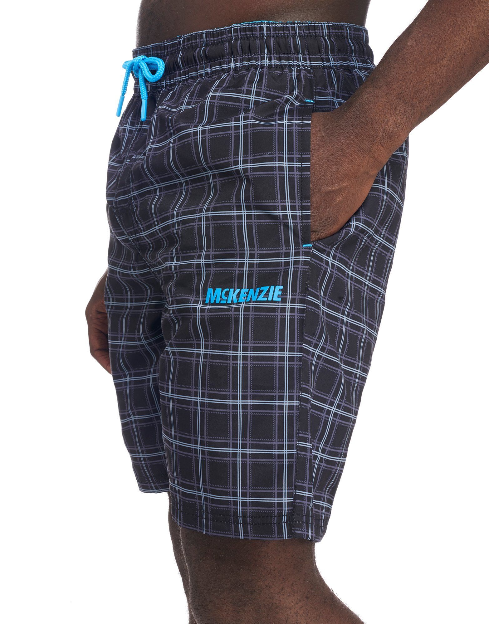 McKenzie Pappas Check Swim Shorts