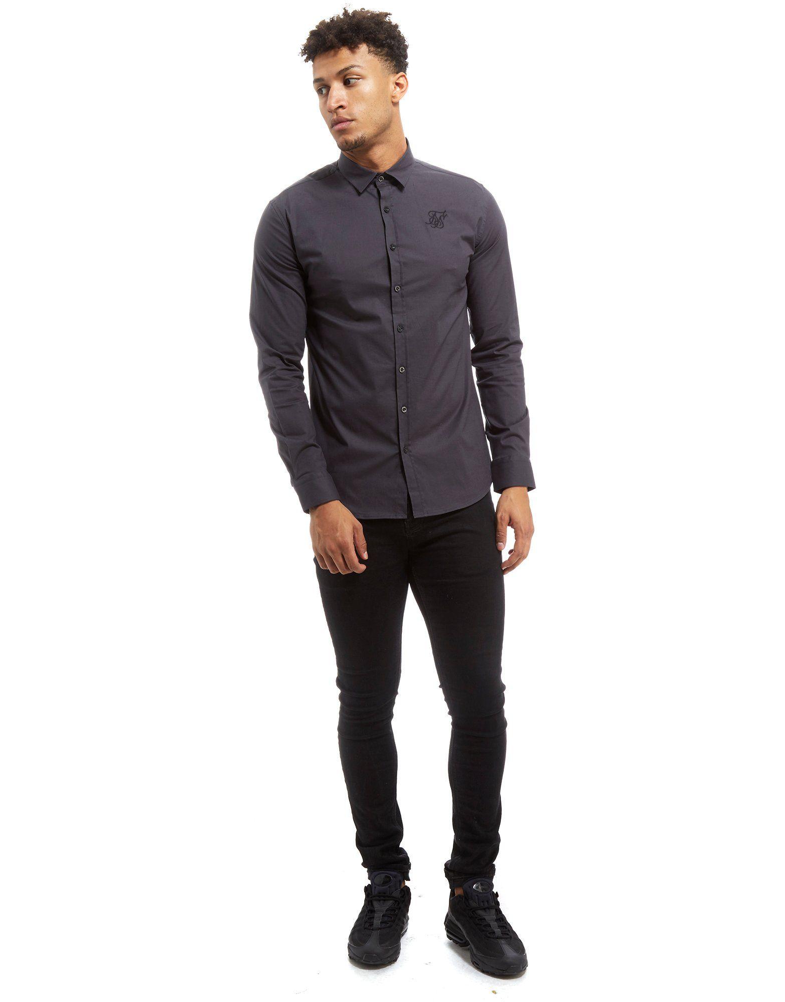 SikSilk Long Sleeve Core Shirt