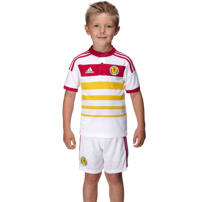 adidas Scotland 2014 Away Kit Children