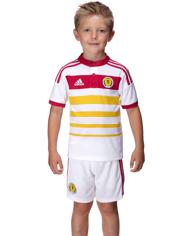 adidas Scotland 2014 Away Kit Children