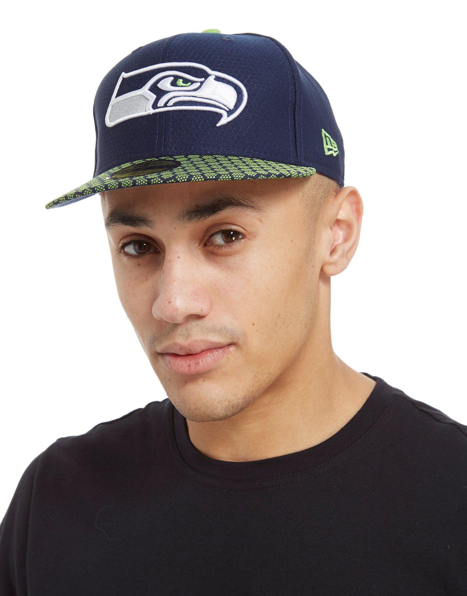 New Era Seattle Seahawks 59Fifty Cappellino