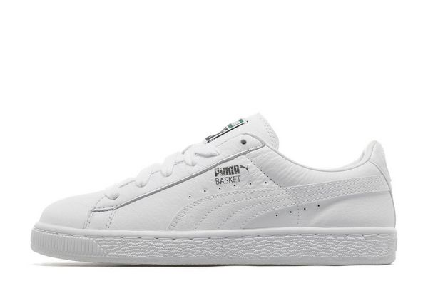 puma basket white jd