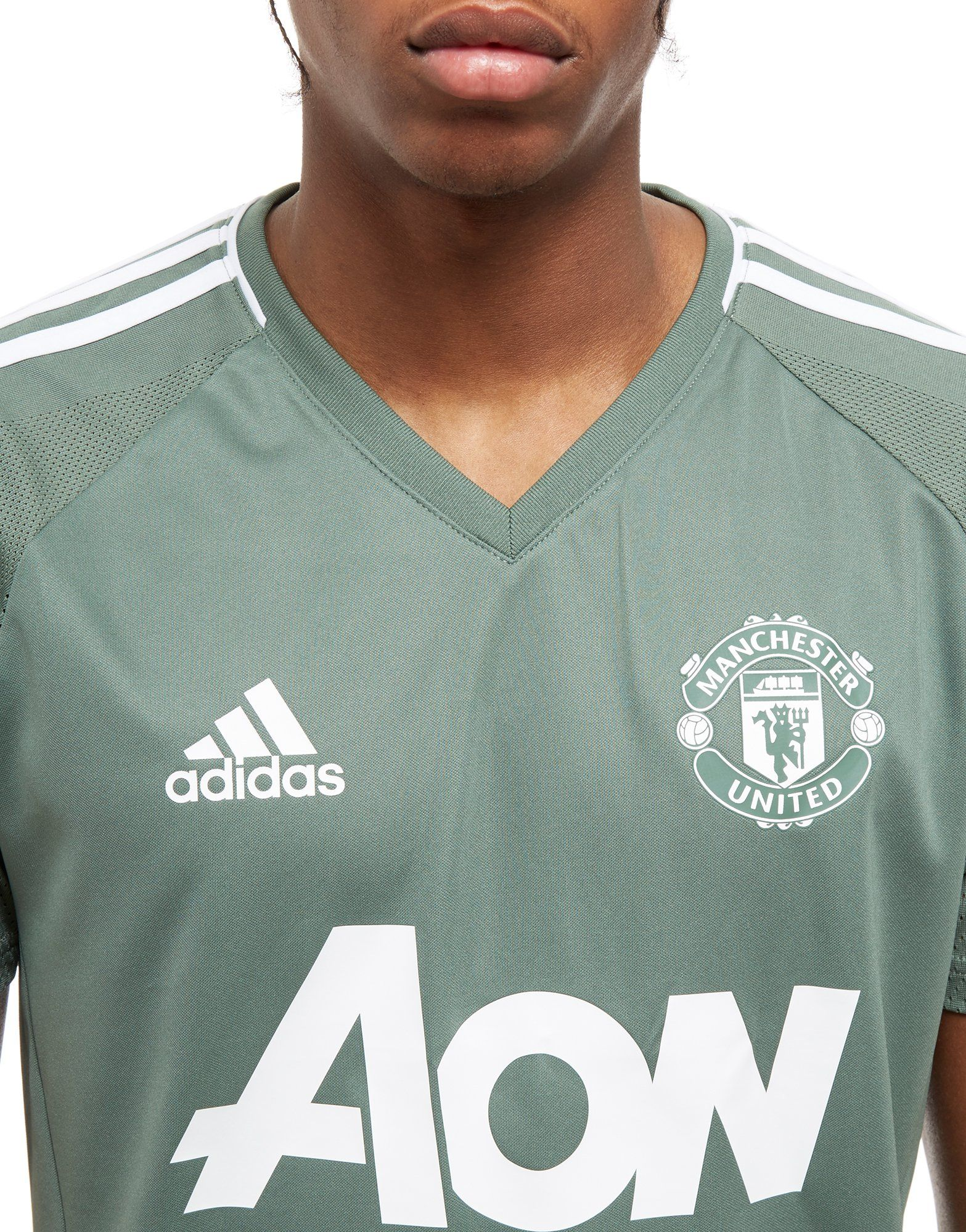 adidas adidas Manchester Manchester Shirt United Gr眉n Training Gr眉n FC RBwvqd