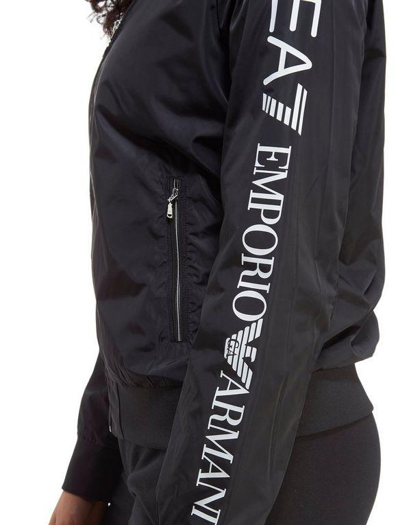 Ea7 Femme Jd Veste Emporio Bomber Sports Armani Logo nO5g5Ux4q