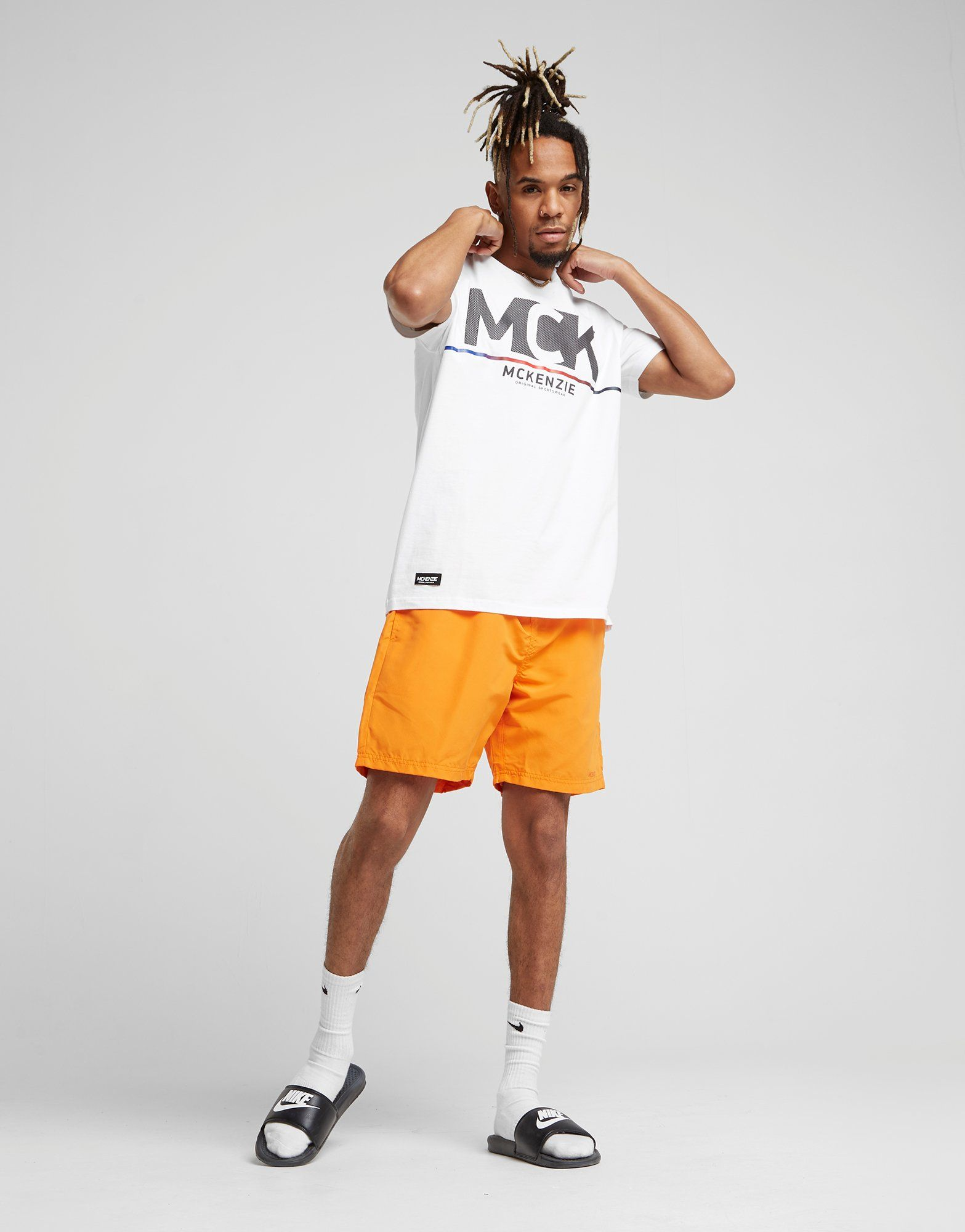 McKenzie Core Swim Shorts Orange