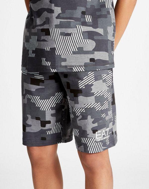 5bc483defdb16 Emporio Armani EA7 Digi Camo Shorts Junior