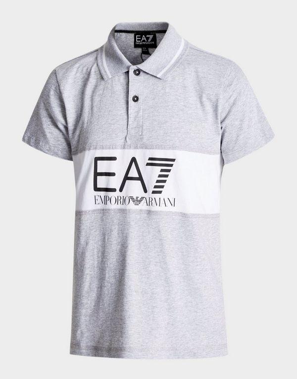 Emporio Armani EA7 Panel Logo Polo Shirt Junior  04ac2343b2a6
