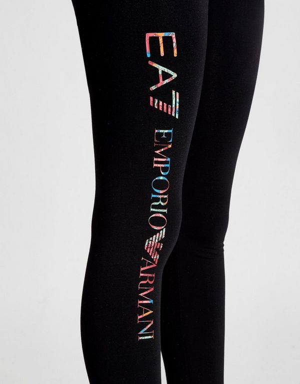 ce3ae03561b6a7 Emporio Armani EA7 Girls' Floral Logo Leggings Junior   JD Sports ...