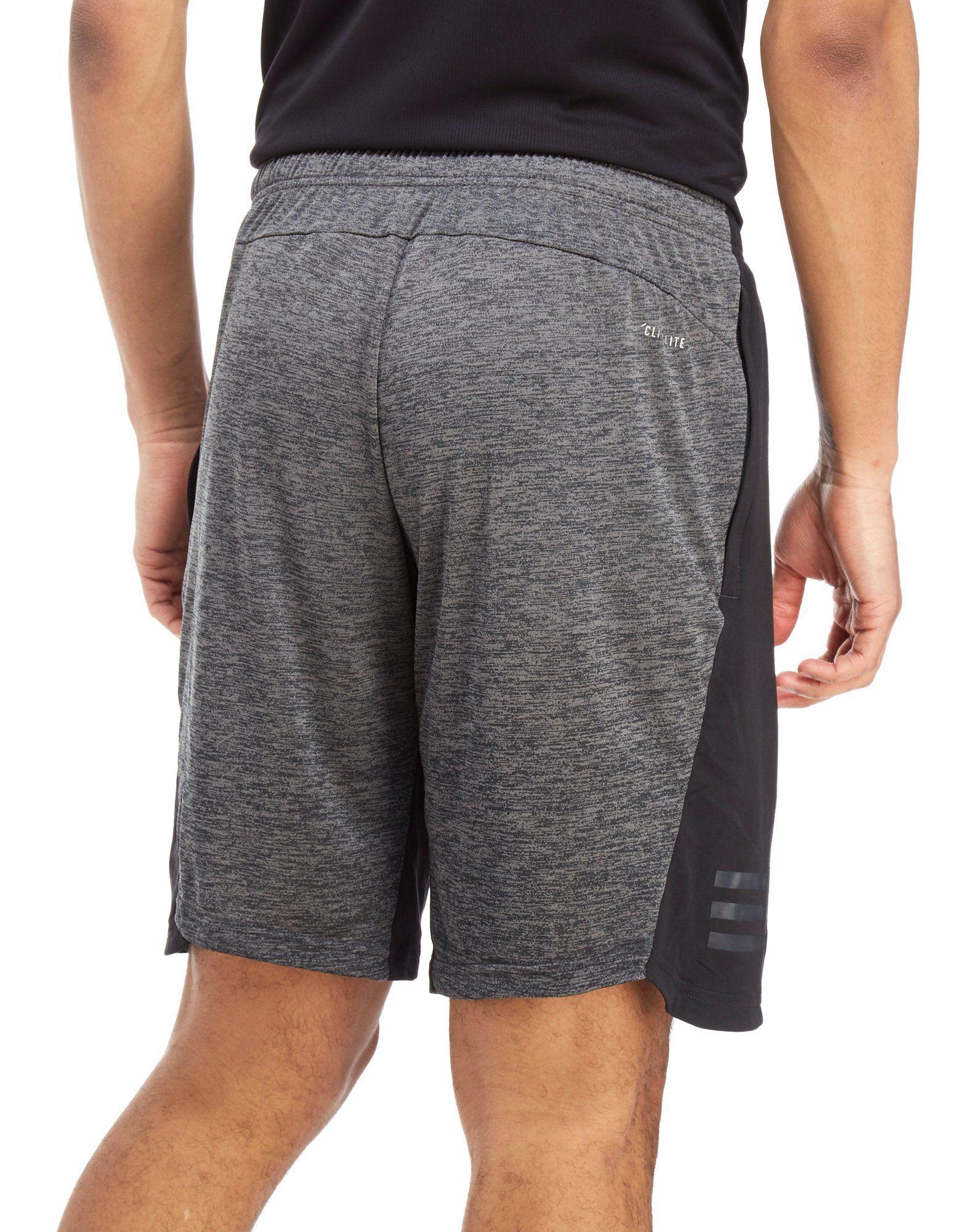 adidas 4KRFT Gradient Shorts Schwarz