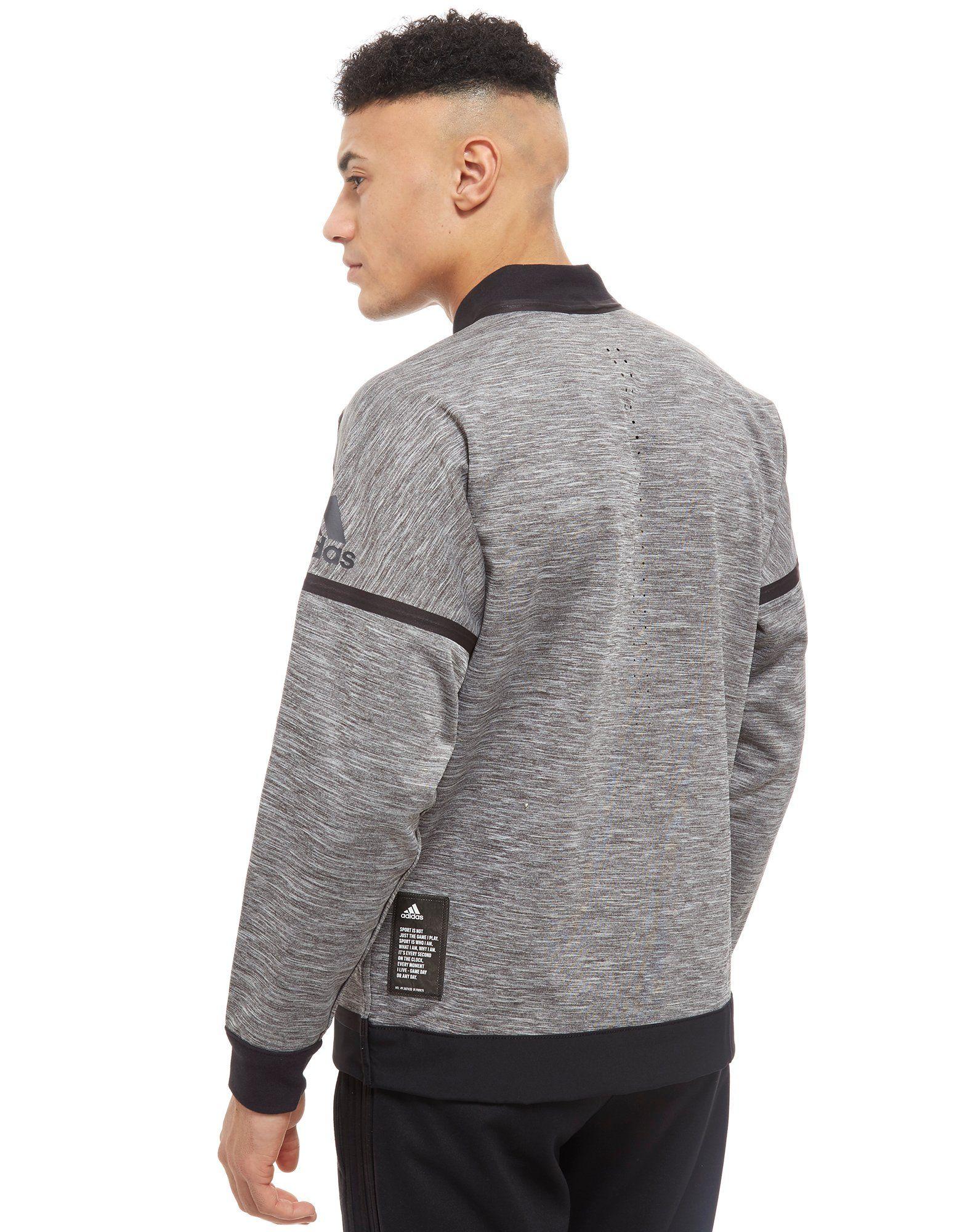 adidas Z.N.E. Track Jacket Grau