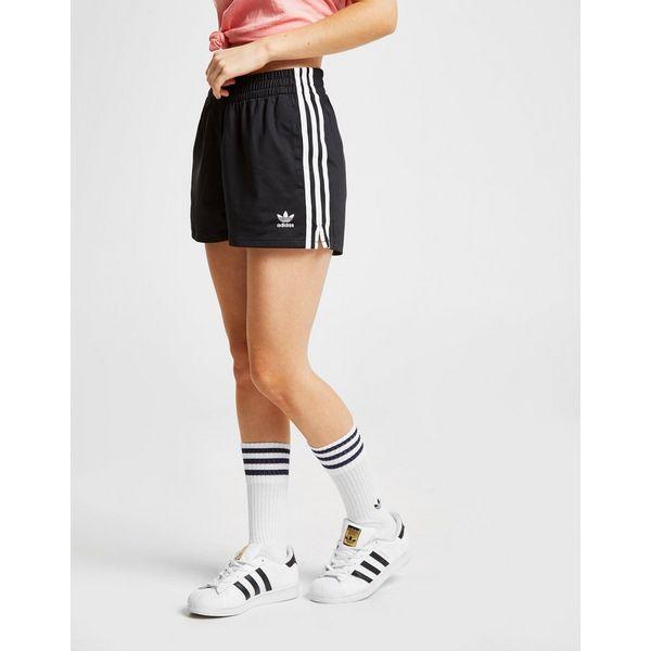 adidas originals short 3 stripes poly homme jd sports. Black Bedroom Furniture Sets. Home Design Ideas