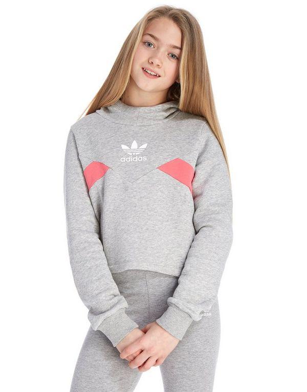 9ea5b42bc adidas Originals Girls' Crop Hoodie Junior | JD Sports Ireland