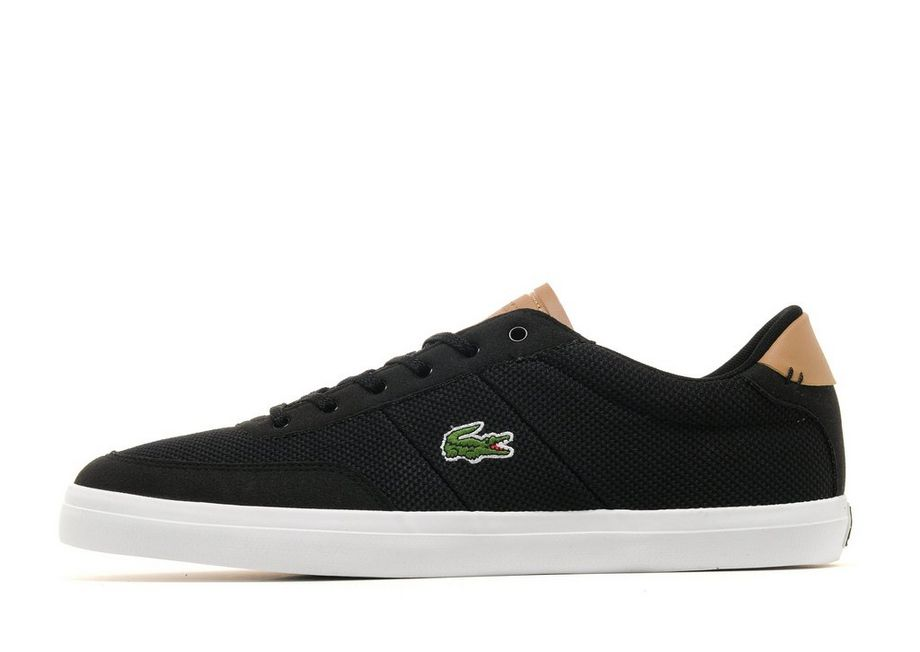 Lacoste Court-Master - Men's Classic Trainers - Black 038194