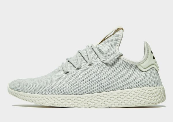 adidas originals pharrell williams tennis hu trainers in grey