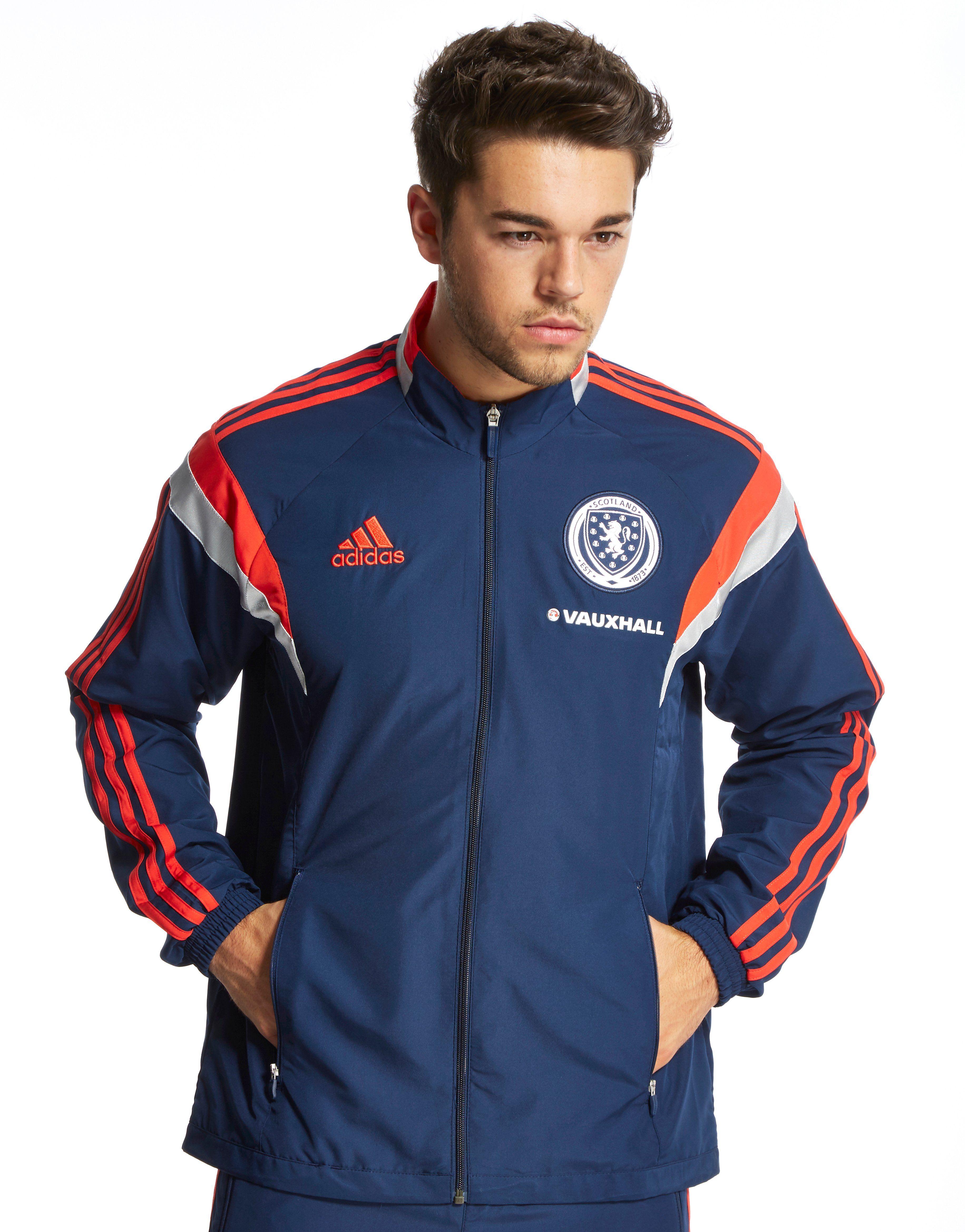 adidas Scotland FA Presentation Jacket